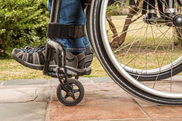 Ein Treppenlift für den Rollstuhl