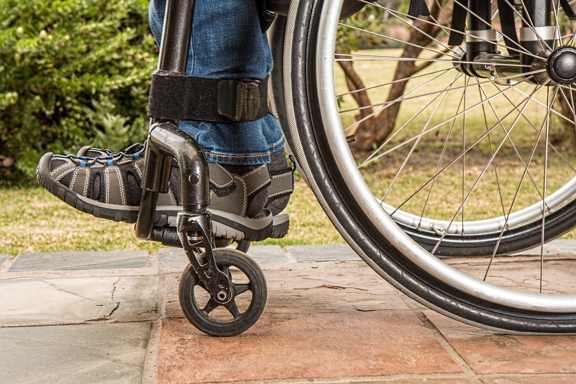 Treppenlift für den Rollstuhl